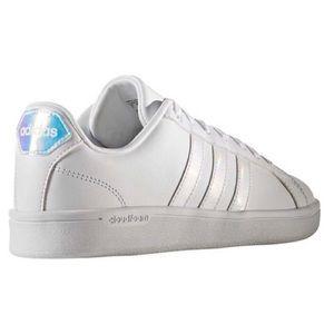 Adidas Neo Cloudfoam Advantage Iridescent Sneakers